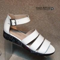be026b30c 106728 Женские кожаные босоножки от производителя Наша Версия ТМ город  Николаев